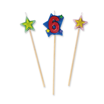 Candela-Numerale-su-stecco-N.-6-cm12