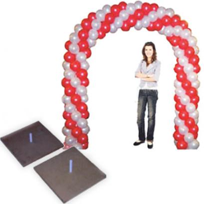 Base per archi – base per decorazioni con tubi e raccordi