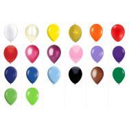 Palloncini colorati in lattice palloncini tondi dimensione cm 30 - conf. 100 pz