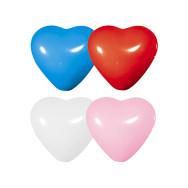 Palloncini in lattice a forma di cuore dimensione cm 28 cm