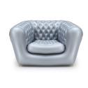 Vendita divano-poltrona gonfiabile per interno ed esterni - colore ARGENTO 1 POSTO