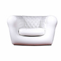 Vendita divano-poltrona gonfiabile per interno ed esterni - colore BIANCO 1 POSTO