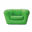 Vendita divano-poltrona gonfiabile per interno ed esterni - colore VERDE 1 POSTO