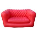 Vendita poltrona gonfiabile ROSSA - divano gonfiabile per interni ed esterni
