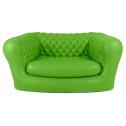 Vendita poltrona gonfiabile VERDE - divano gonfiabile per interni ed esterni