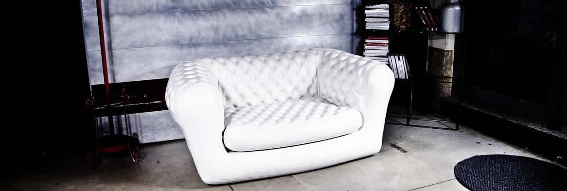 Vendita poltrone-divani gonfiabili per interni ed esterni a 2 POSTI