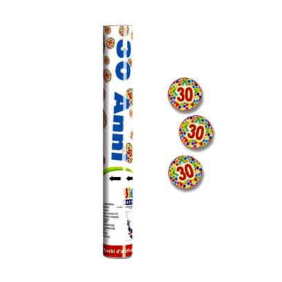 CANNONE-SPARA-CORIANDOLI-30-ANNI-30cm
