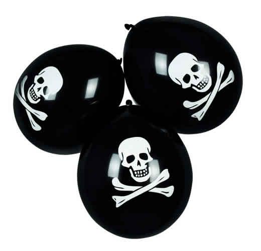 Palloncini Pirati 6pz Decorazioni Cucina: Stoviglie E Accessori