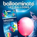 Palloncini-Luminosi-Balloominate-5pz-LED-Luce-ROSSA-Fissa
