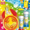 Elica bolle con soffiatore per bolle giganti - Mod BABBOL BUBBLE FAN - BIG new