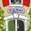 BIG HOUSE - Castello gonfiabile con scivolo gonfiabile di medie dimensioni n.3