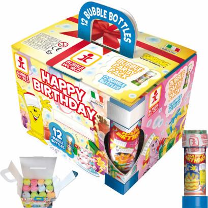 Babbol Party Pack - Bolle di sapone per feste party e compleanni conf 12 pz