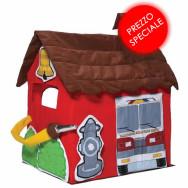 Fire Station - La divertente tenda-stazione dei piccoli vigili del fuoco