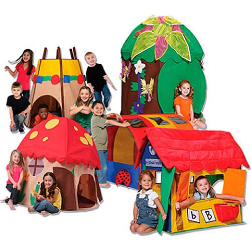 Casette/Tende da gioco per bambini sia da interno che esterno o da giardino