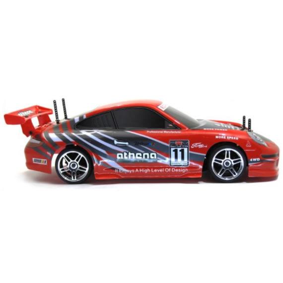 ATHENA 911 GT3 Automodello elettrico stradale completo di radiocomando e batteria