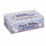 Bolle Matrimonio con Nastro Perlato - Confezione da 24 – Bolle di sapone per matrimoni – cerimonie religiose e non