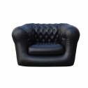 Vendita divano-poltrona gonfiabile per interno ed esterni - colore NERO 1 POSTO