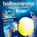 Palloncini-Luminosi-Balloominate-5pz-LED-Luce-GIALLA-Fissa