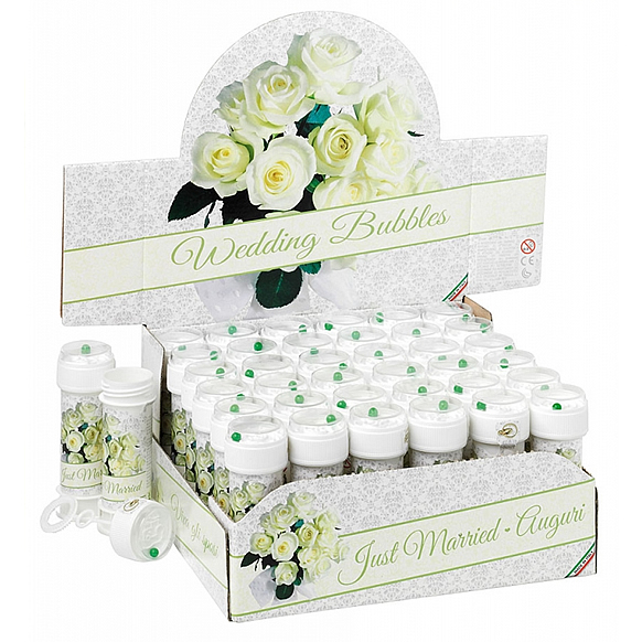 Wedding Flower Premium Bubbles – Bolle di sapone per matrimonio