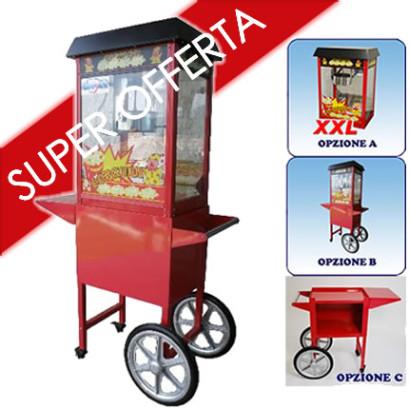 Vendita-Acquisto macchina per i Pop Corn - Carretto Pop Corn
