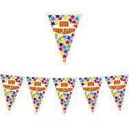 Festone Bandierine Buon Compleanno in plastica 600 x 25 cm
