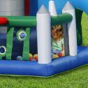 BIG HOUSE - Castello gonfiabile con scivolo gonfiabile di medie dimensioni n.12