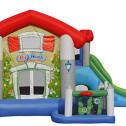 BIG HOUSE - Castello gonfiabile con scivolo gonfiabile di medie dimensioni n.6