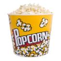 Secchiello in cartoncino per Pop Corn - misure misure diametro base 14,50 cm diametro bocca 19,00 cm per h.15 cm - conf. da 10 pezzi