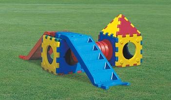 CUBIC TOY MODELLO F - allestimento area giochi